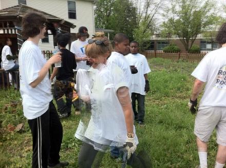 Breaking down 6th Street Community Garden