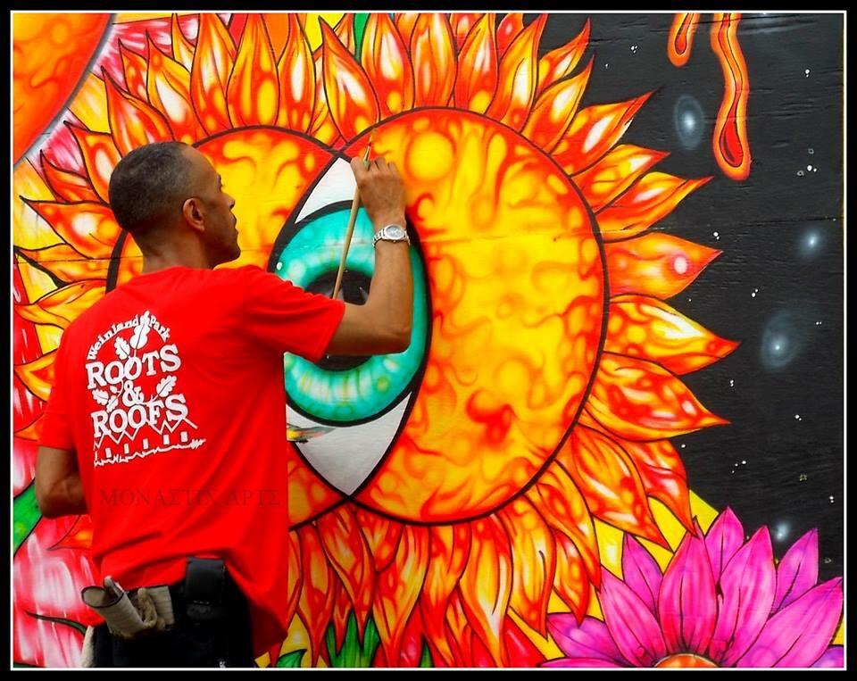 empowering mural in weinland park