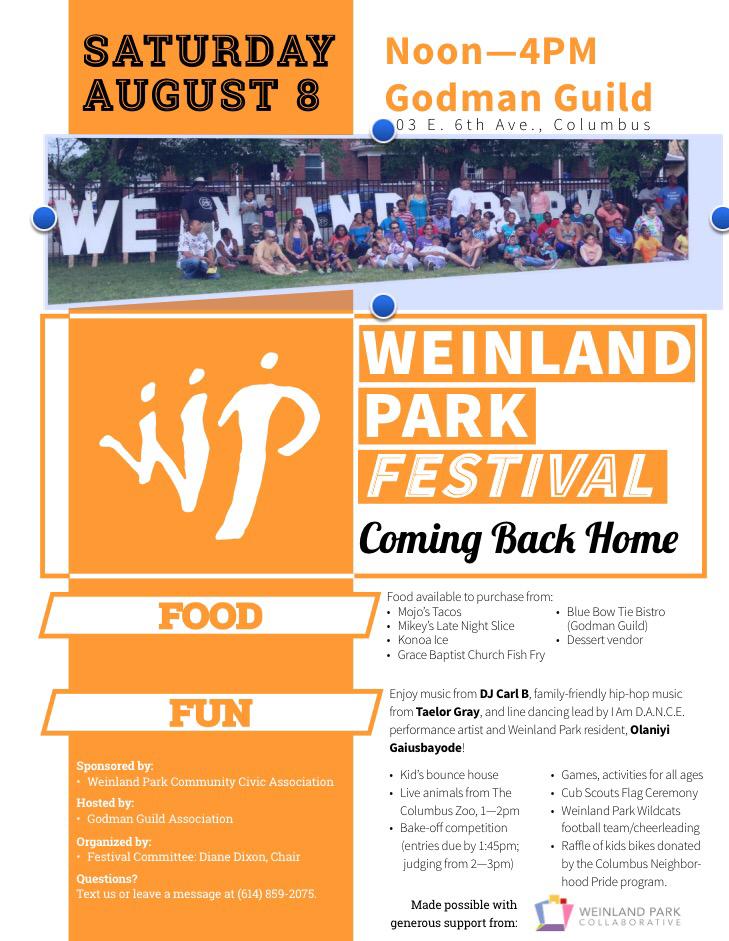 Weinland Park Community Festival