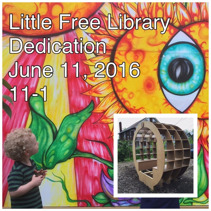 little free library in weinland park dedication